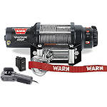 Warn Vantage 4000 Winch - ATV Winches and Bumpers for Utility Quads