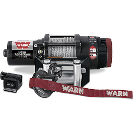 Warn ProVantage 2500 Winch - 2008 Kawasaki BRUTE FORCE 650 4X4i (IRS) Warn Winch Mounting System