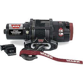 Warn ProVantage 2500-S Winch - Warn Trail Lights
