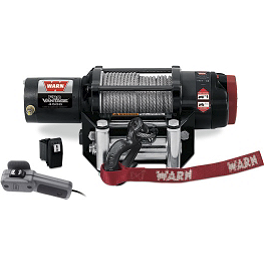 Warn ProVantage 4500 Winch - 2009 Yamaha GRIZZLY 350 2X4 Warn Winch Mounting System