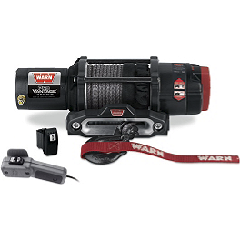 Warn ProVantage 4500-S Winch - 2006 Kawasaki BRUTE FORCE 650 4X4i (IRS) Warn Winch Mounting System