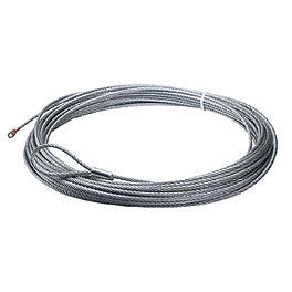 Warn Replacement Wire Rope - 50 Feet - 2008 Honda TRX500 FOREMAN 4X4 Warn Winch Mounting System