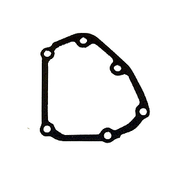 Woodcraft Oil Pump Cover Gasket - GYTR Billet Left Case Covers With Tuning Fork Logo