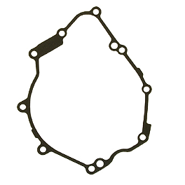 Woodcraft Crankcase Cover Gasket - 2010 Yamaha YZF - R6 Woodcraft Rearset Kit With Shift Pedal