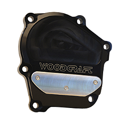 Woodcraft Ignition Trigger Cover - 2005 Kawasaki ZX636 - Ninja ZX-6R Woodcraft 3-Piece Brake Pedal