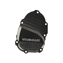 Woodcraft Ignition Trigger Cover - 2010 Yamaha YZF - R6 Woodcraft 3-Piece Brake Pedal
