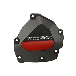 Woodcraft Ignition Trigger Cover - 2009 Yamaha YZF - R1 Woodcraft 3-Piece Brake Pedal