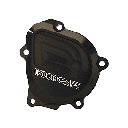Woodcraft Starter Idle Gear Cover - 2001 Suzuki GSX-R 750 Woodcraft 3-Piece Brake Pedal