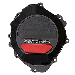 Woodcraft Stator Cover - 2008 Honda CBR600RR Woodcraft Aluminum Shift Rod