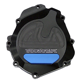 Woodcraft Stator Cover - 2008 Suzuki GSX-R 1000 Woodcraft Replacement Shift Pedal Shaft