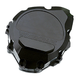 Woodcraft Stator Cover - 2011 Suzuki GSX1300R - Hayabusa Woodcraft Swingarm Spool Sliders
