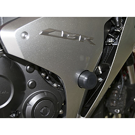 Woodcraft Frame Slider Kit - 2009 Honda CBR1000RR ABS Woodcraft Clutch Cover Protector
