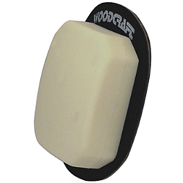 Woodcraft Klucky Pucks Knee Sliders - Asphalt & Gas Standard Oval Knee Puck