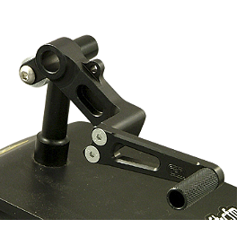 Woodcraft 3-Piece Brake Pedal - 2012 Kawasaki EX250 - Ninja 250 Woodcraft 3-Piece Brake Pedal
