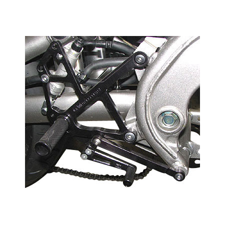 Woodcraft Complete Rearset Kit - Black
