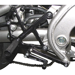 Woodcraft Complete Rearset Kit - 2011 Kawasaki EX650 - Ninja 650R Woodcraft Replacement Shift Pedal Shaft