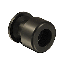 Woodcraft Replacement Slider Spool Puck - Black - Woodcraft Aluminum Swingarm Spools With 8mm Spacer