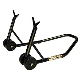 Woodcraft RS101 Rear Spool Stand - Woodcraft T-Shirt