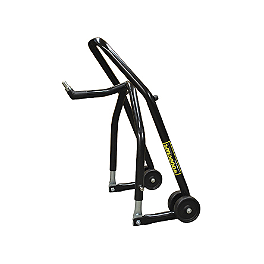 Woodcraft Solo Operation Front Stand With Pin - 1996 Suzuki GS 500E Powerstands Racing Big Mike Triple Tree Front Stand With Pin