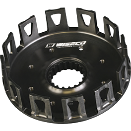 Wiseco Clutch Basket - 2007 Honda CRF250R Barnett Clutch Kit With Carbon Fiber Friction Plates