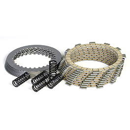 Wiseco Clutch Pack Kit - 2011 Kawasaki KX250F Barnett Clutch Kit With Carbon Fiber Friction Plates