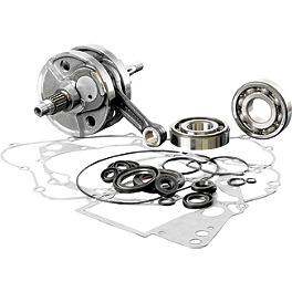 Wiseco Complete Crank Kit - 2001 Suzuki RM125 Wiseco Top And Bottom End Kit - 2-Stroke