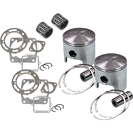 Wiseco High Performance Piston Kit - GYTR Replacement Big Bore Ring Set