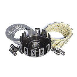 Wiseco Performance Clutch Kit - 2011 Kawasaki KX100 Hinson Billet Clutch Basket