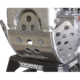 Works Connection Extended Coverage Skid Plate - 2013 Yamaha WR450F Works Connection Engine Timing Plugs