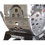 Works Connection Extended Coverage Skid Plate - Works Connection Dirt Bike Products