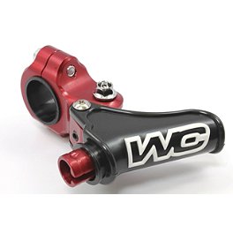 Works Connection Elite Perch Body Assembly - 2008 Honda CRF150F Works Connection Front Brake Reservoir Cap - Red