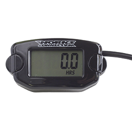 Works Connection Hour-Tach Meter - 2000 Kawasaki KX250 Works Connection Oil Filler Plug - Black
