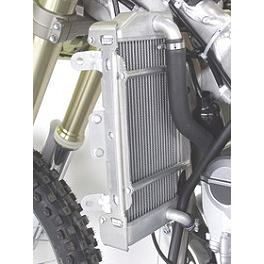Works Connection Radiator Cages - 2007 Kawasaki KX450F DeVol Radiator Guards