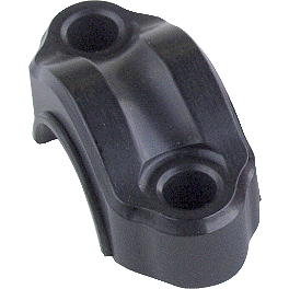 Works Connection Rotating Clamp - 1998 Kawasaki KDX220 Works Connection Oil Filler Plug - Black