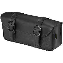 Willie & Max Black Jack Tool Pouch - Willie & Max Synthetic Leather Revolution Hard Mount Belted Saddlebag
