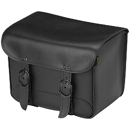 Willie & Max Black Jack Tour Trunk - Willie & Max Black Jack Slant Saddlebags - Compact