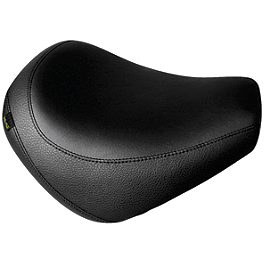 Willie & Max Black Label Solo Seat - Willie & Max Pillion Seat