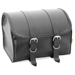 Willie & Max Braided Max Pax Tour Trunk - Willie & Max Condor Slant Saddlebags - Large