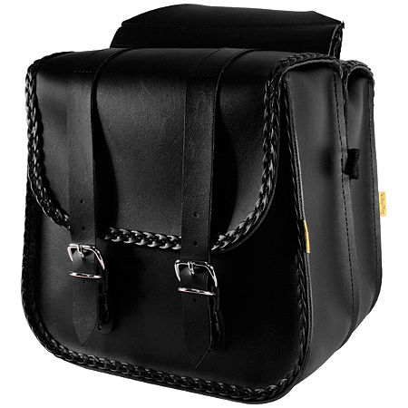Willie & Max Braided Saddlebags - Standard - Main