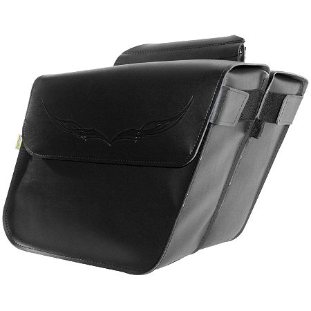 Willie & Max Condor Slant Saddlebags - Standard - Main