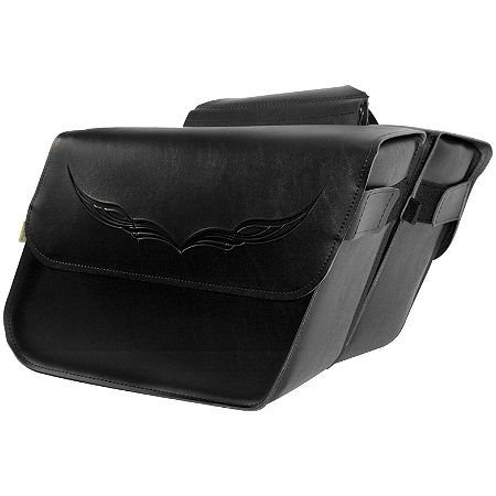 Willie & Max Condor Slant Saddlebags - Large - Main
