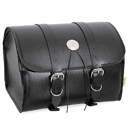 Willie & Max Deluxe Max Pax Tour Trunk - Willie & Max Revolution Throwover Standard Saddlebag