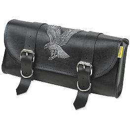 Willie & Max Eagle Tool Pouch - Willie & Max Condor Slant Saddlebags - Compact