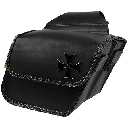 Willie & Max Maltese Cross Saddlebag - Main