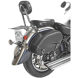 Willie & Max Revolution Hard Mount Standard Saddlebag - Willie & Max Black Jack Tour Trunk