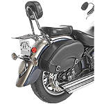 Willie & Max Revolution Hard Mount Standard Saddlebag - WILLIE-&-MAX Cruiser Luggage and Racks