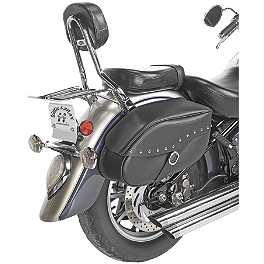 Willie & Max Revolution Hard Mount Studded Saddlebag - Willie & Max Revolution Hard Mount Standard Saddlebag