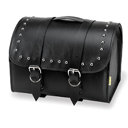 Willie & Max Ranger Studded Max Pax Tour Trunk - Willie & Max Condor Slant Saddlebags - Large