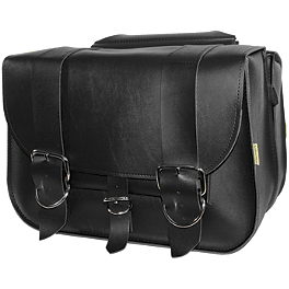Willie & Max The Mechanic Saddlebags - River Road Quest Series Rigid Zip Off Box Saddlebags With Security Lock