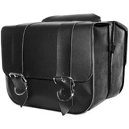 Willie & Max Touring Saddlebags - All American Rider Box-Style Saddlebags - Detachable